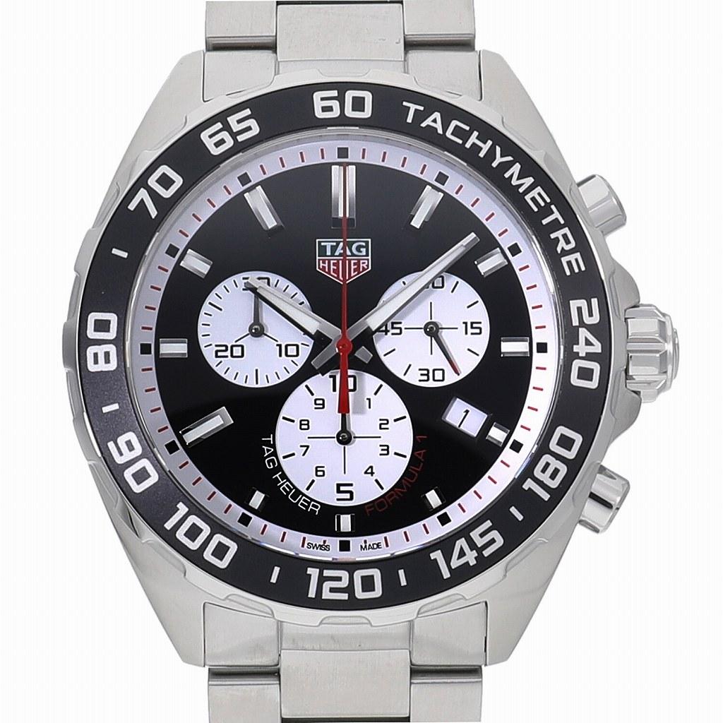 中野ブロードウェイの時計専門店 販売実績No.1 れんず TAG HEUER 新品 タグホイヤー フォーミュラーワン 腕時計 クォーツ クロノグラフ CAZ101E.BA0842 送料無料 再入荷/予約販売! 男性用 メンズ