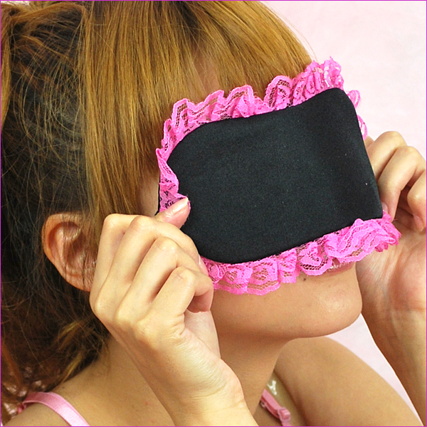 I'm excited you couldn't! Eye lovely ★ mask race tonight in blindfold play for fun!