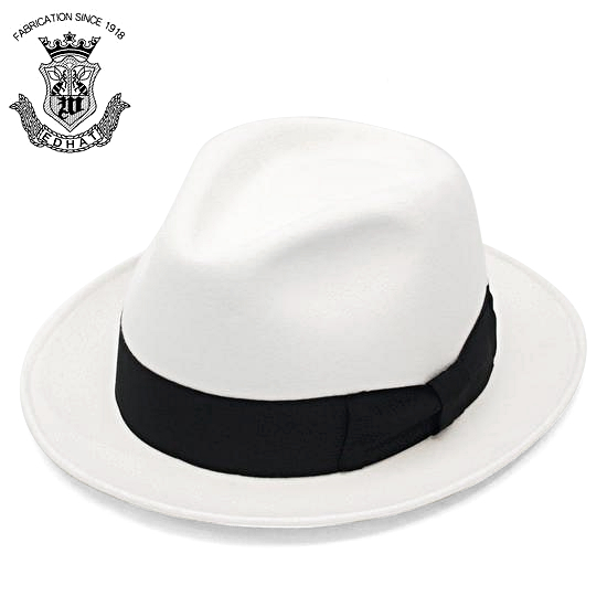 A wide-brimmed felt Hat Hat-large XXL (in TBA) caps  amp  hats white  (white) 61 cm men s men s winter hat size Japan d9a461364ec