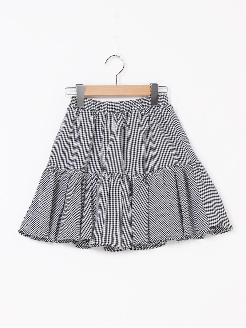 repipi armario キッズ スカート レピピアルマリオ 毎日激安特売で 営業中です ティアードミニスカート キッズスカート Rakuten ブルー ブラウン 正規品送料無料 Fashion ピンク ブラック