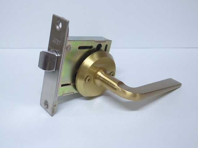 セーヌ GLS-50 レバーハンドル空錠 金色ヘアラインS仕上玄関 ドア 扉 修理 補修 交換 部品 パーツ