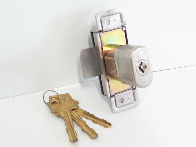 ミワ シリンダー錠 YS-K13371 玄関 ドア 扉 修理 補修 交換 部品 パーツ