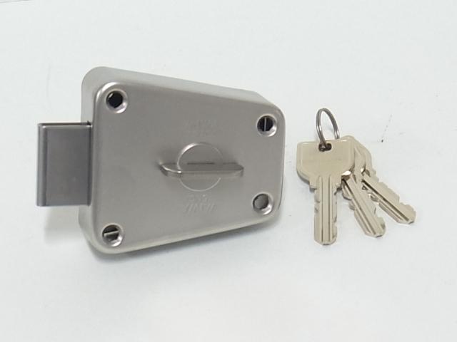 ミワロックU9-NDA補助錠 玄関 ドア 売れ筋 贈与 扉 修理 交換 パーツ 補修 部品