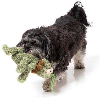 ■FuzzYard スクラッチ のみ・グリーン S ホッタハブ ▽b ペット グッズ 犬 ドッグ おもちゃ ぬいぐるみ