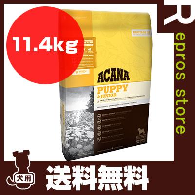 ■アカナ パピー&ジュニア 11.4kg アカナファミリージャパン ▼g ペット フード 犬 ドッグ ACANA 送料無料 同梱可
