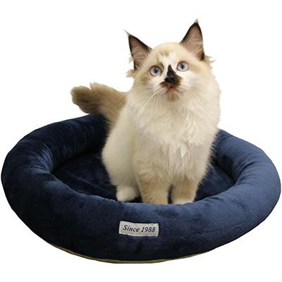 在庫セール ペットプロ [PetPro] マイクロファイバー ホットマット 猫用 ネイビー ▼a ペット グッズ 猫 キャット
