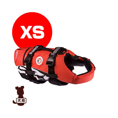 ■EZYDOG イージードッグ DFDスタンダード XS レッド 新東亜交易 ▼g ペット グッズ 犬 ドッグ アクセサリー フローティングジャケット