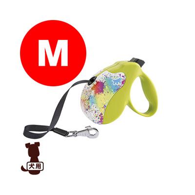 ferplast ファープラスト アミーゴ M テープタイプ DECOR SPOTS ファンタジーワールド ▼w ペット グッズ 犬 ドッグ アクセサリー 伸縮リード