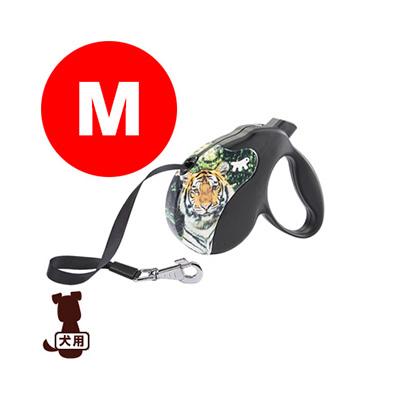 ferplast ファープラスト アミーゴ M テープタイプ DECOR TIGER ファンタジーワールド ▼w ペット グッズ 犬 ドッグ アクセサリー 伸縮リード
