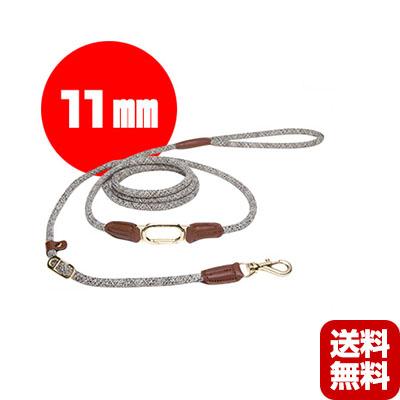送料無料・同梱可 クリックショルダーリード [CLIC Shoulder Leash] 11mm ベージュ HIGH5DOGS ▽b ペット グッズ 犬 ドッグ アクセサリー 引き紐
