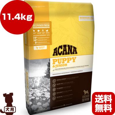 ■アカナ パピー&ジュニア 11.4kg アカナファミリージャパン ▼g ペット フード 犬 ドッグ ACANA 送料無料