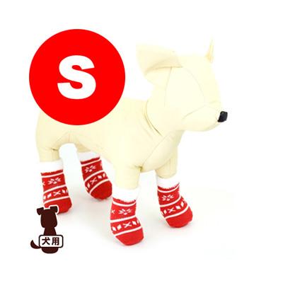傷舐めや肉球保護にピッタリ ☆ペットソックス4足セット S クリスマス アライブ g 犬 ショップ ペット ドッグ 小物 グッズ 人気海外一番