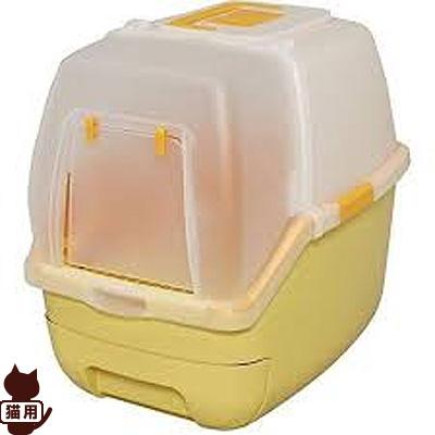 ◆楽ちん猫トイレ フード付きセット オレンジ RCT-530F アイリスオーヤマ ▼g ペット 猫 キャット