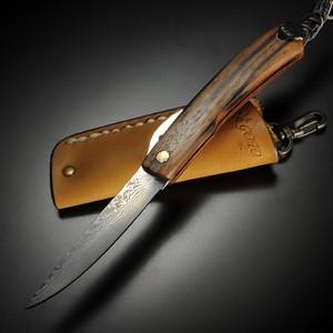 カスタムナイフ 後藤渓 BF-1 コアレス多層鋼 黒檀 折りたたみ式 折り畳みナイフ フォルダー フォールディングナイフ ホールディングナイフ