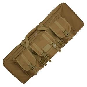CONDOR ダブルライフルケース ソフト [ コヨーテブラウン / 42インチ ] アサルトライフルケース ショットガンケース ライフル銃ケース 散弾銃ケース