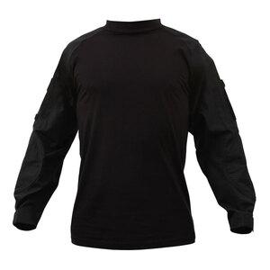 Rothco コンバットシャツ 90010 ブラック [ Mサイズ ]