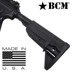 BCM 実物 ガンファイター ストック MOD 0 AR15 M4対応 [ ブラック ] ブラボーカンパニー Stock Assembly buttstock バットストック 電動ガン ガスガン サバゲー装備 ミリタリーグッズ サバイバルゲーム