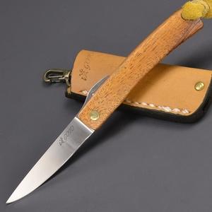 カスタムナイフ 後藤渓 ハワイアンコア 折りたたみ 折り畳みナイフ フォールディングナイフ 折りたたみナイフ ハンドメイド