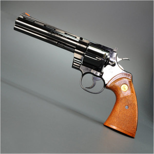 Tanaka model guns Colt Python.357 Magnum Jupiter steel finish 6-inch military Tegan revolver TANAKA handgun pistol pistol over 18 years for more than 18 years of age for toys hobby outdoor gadgets sale