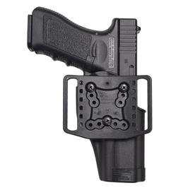BlackHawk CQC Serpa Holster MF GLOCK 20 [left-handed] equipment ( clothing  shoes accessory goggles ) BHI glock2024s&WM&p 45 left handed black 440543