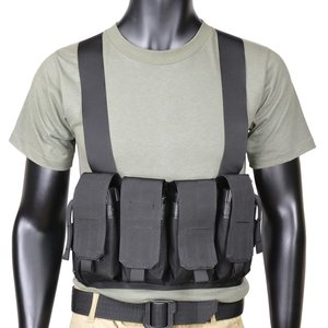 Blackhawk chest rig M16/M4 8 storage 55cp01 [Black] Blackhawk ammunition belt M4 magazine pouch M16 magazine pouch M4 Mag porch M16 Mag porch sabage equipped military toy survival game