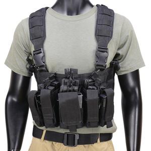 CONDOR チェストリグ MCR5 リーコン M4 ピストルマガジン6本 [ ブラック ] OUTDOOR コンドルアウトドア 弾薬帯 M4マガジンポーチ M16マガジンポーチ M4マグポーチ M16マグポーチ サスペンダー