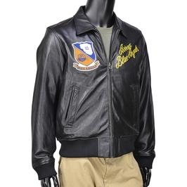 AVIREX leather jacket Blue Angels team 6161059 [XL] avirex jacket army  jacket men's jacket