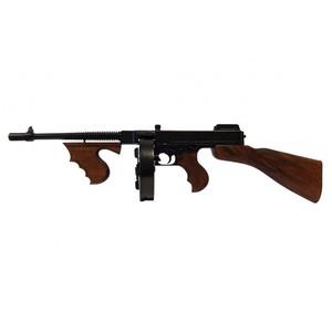 DENIX M1サブマシンガン トンプソンモデル 装飾銃 レプリカ 1092 デニックス M1928 SUBMACHINE GUN 古式抹消 古式銃 モデルガン アンティーク銃 西洋銃 フォアグリップ コンペイセンター インテリア コレクション