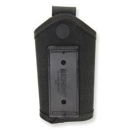 附帶黑色鷹鑰匙包44A650BK皮帶循環的| Blackhawk BHI鍵環持有人鍵鏈子