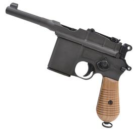 Marushin 木握股票毛瑟 M712 橡膠握槍自訂部件自訂槍柄