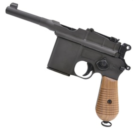 Marushin 木握股票毛瑟 M712 橡胶握枪自定义部件自定义枪柄