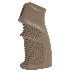 DLG Tactical 実物 ライフルグリップ AR15 エルゴノミック [ ベージュ ] タクティカル ERGONOMIC GRIP DLG-090 銃把 握把 トイガンパーツ サバゲー用品:ミリタリーサープラス レプティル
