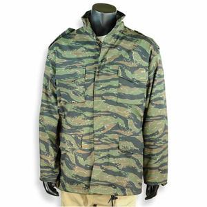 Rothco ミリタリージャケット M-65 [ タイガーストライプカモ / Sサイズ ] フィールドジャケット アーミージャケット メンズ 上着