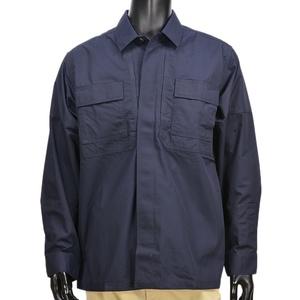 5.11タクティカル TDUシャツ 長袖 リップストップ 72002 [ ダークネイビー / Sサイズ ] 511 5.11Tactical ミリタリーシャツ 長袖シャツ ロングTシャツ アーミーシャツ アサルトシャツ
