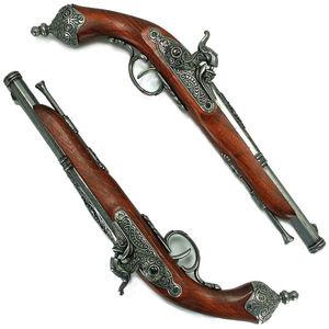 DENIX 古式銃 パーカッションロック 2丁 セット | デニックス 古式抹消 レプリカ モデルガン アンティーク銃 西洋銃