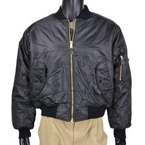 Rothco フライトジャケット MA-1 [ ブラック / XLサイズ ] ロスコMA-1 MA-1低価格