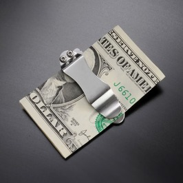 把G sakaimanekurippunaifu武士短刀G-SAKAI G、SAKAI紙幣放進去男子的錢包折疊式的naifuforudaforudingunaifuhorudingunaifu