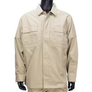 5.11タクティカル TDUシャツ 長袖 リップストップ 72002 [ カーキ / Lサイズ ] 511 5.11Tactical ミリタリーシャツ 長袖シャツ ロングTシャツ アーミーシャツ アサルトシャツ