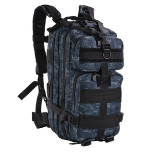 Rothco バックパック トランスポート [ ミッドナイトデジタルカモ ] 2584 リュックサック ナップザック デイパック カバン かばん 鞄 ミリタリー ミリタリーグッズ サバゲー装備