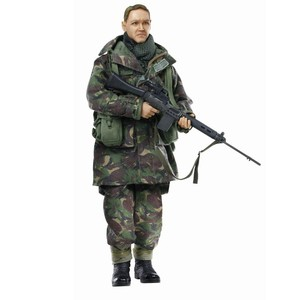 ドラゴンモデルズ アクションフィギュア イギリス海兵隊 第45部隊員 DRAGON MODELS 可動式ミリタリーフィギュア 第二次世界大戦 