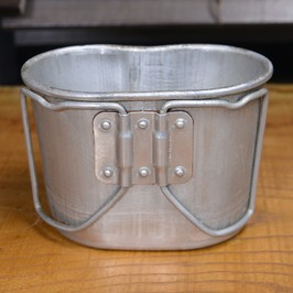 Product made in French military-releasing article canteen cup dead stock perception teen cup aluminum