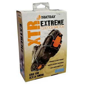 ヤクトラックス XTR エクストリーム 簡易スノーシュー かんじき [ Sサイズ ] YAKTRAX 雪上穂工具 winter_spdl01
