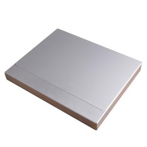 POSSE アルミ製 ファイルケース A4対応 LC-2000-CA | ポッシ 文房具 ステーショナリー 書類ケース 書類ボックス アルミケース アルミボックス