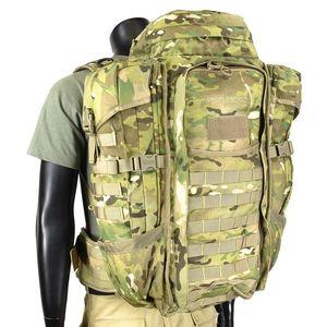 エバーレストック バックパック F3 ハーフトラック [ マルチカモ ] リュックサック ナップザック デイパック カバン かばん 鞄 ミリタリー ミリタリーグッズ サバゲー装備