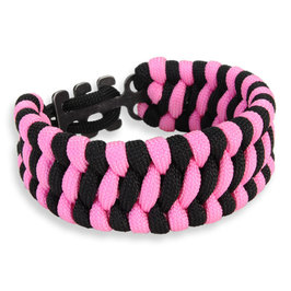 Columbia Paracord Bracelet adjustable pink black material CRKT cr9400k Paracord survival bracelet parachute code breath bangles nylon bracelet rope rope shoes laces shoes laces rope sures jewelry