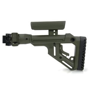 アジャスタブル式チークレストを備えたクリンコフ用カスタムストック FABディフェンス 実物 UAS バットストック AKS-74U クリンコフ用 チークピース搭載 ODグリーン DEFENSE クリンコフ用ストック モデルガンパーツ ライフルストック P カスタムパーツ 装備品 迅速な対応で商品をお届け致します 樹脂製銃床 UAS-AKS 樹脂製ストック トイガンパーツ 樹脂ストック トラスト