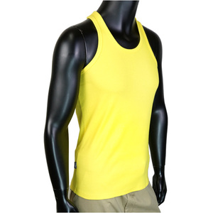 AVIREX tank top plain daily backcross yellow [m] avirex avirex 618363 inner shirt mens fashion tops military outdoor hobby goods sale