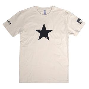 BCM Tシャツ 半袖 STAR 正規品 [ タン / Mサイズ ] Bravo Company Manufacturing ブラボー カンパニー マニュファクチュアリング ブラボーカンパニー 実物 ホワイトスター 米軍 ショートスリーブ