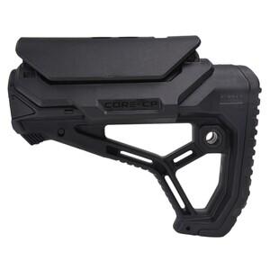 FABディフェンス 実物 GL-CORE CP ストック AR15 M4対応 チークレスト付き [ ブラック ] DEFENSE チューブアダプター付き バットストック ライフルストック 装備品
