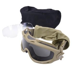 Wiley X タクティカルゴーグル SP29 スピアー 交換レンズ付 [ タン ] ワイリーX サバイバルゲーム ミリタリーグッズ ミリタリー用品 サバゲー装備 アイウエア バイク 防塵曇り止め